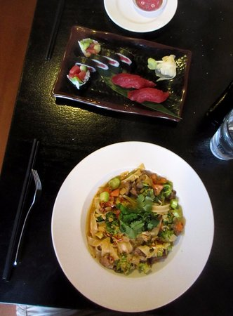 The Asian Palate: Chiang Mai noodles, Monarch roll