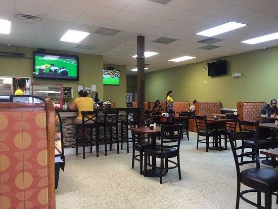 Mi Sitio Colombian Restaurant Columbian Interior Sarasota Fl