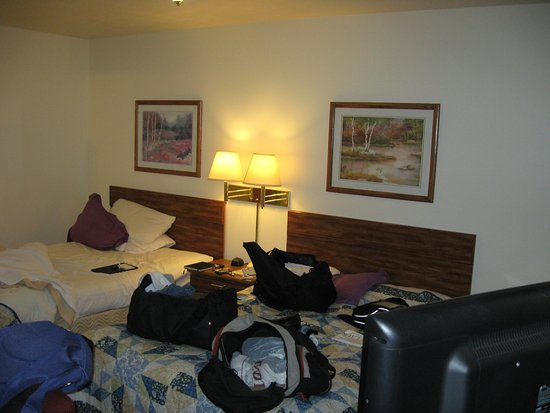 Marquette Motor Lodge: There are larger rooms and ones with more amenities.