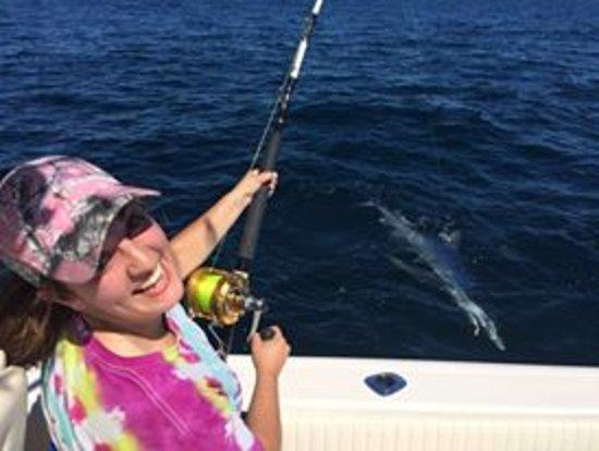 Fishing on the Deborah Ann: what a thrill!
