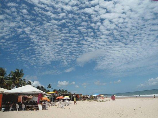 Pratigi Beach: Vilarejo