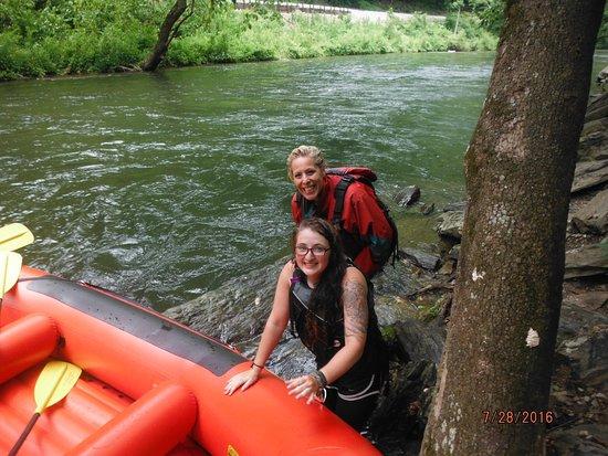 Nantahala Rafting with Adventurous Fast Rivers - Tours : Cliff diving