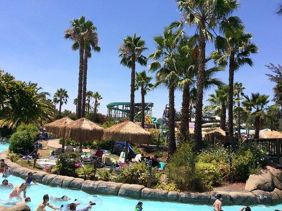 Waterworld California : cool lagoon