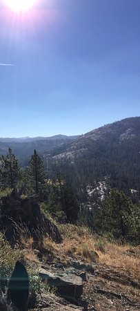 Pinecrest, Californië: All day ride on 8/4/16
