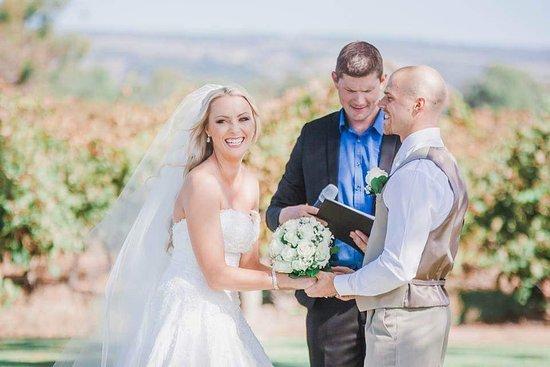 McLaren Vale, Australia: Garden/vineyard Weddings at Old Oval Estate