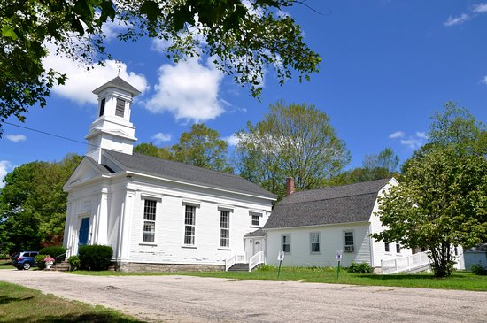 Connecticut: Newent Congregational Church (1858) - Lisbon, CT