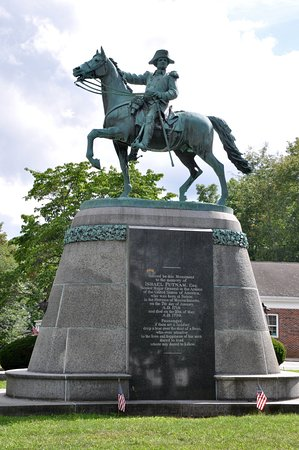 Connecticut: Israel Putnam Monument (1888) - Brooklyn, CT