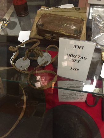 Vermilion County War Museum: WWII dog tags