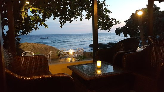 Minang Cove Resort: View from the bar