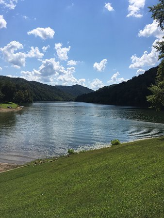 Buckhorn Lake State Resort: Beautiful in every direction!