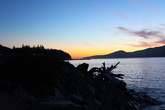 Port Renfrew, Canada : The beach sunset right out the door
