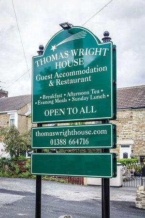 Thomas Wright House: Guest Accommodation & Restuarant recently opened in the village of Byers Green.