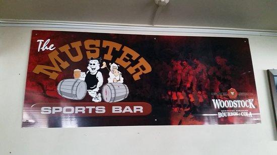 Te Kuiti, Nya Zeeland: The Muster Bar