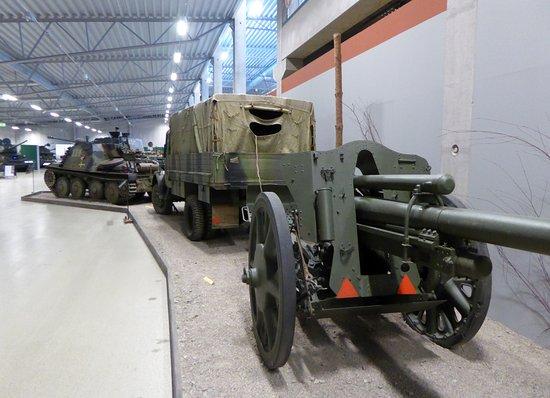 Arsenalen - Sveriges Försvarsfordonsmuseum: Tysk fälthaubits från andra världskriget