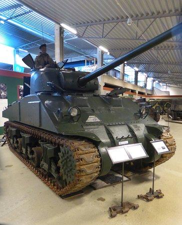 Arsenalen - Sveriges Försvarsfordonsmuseum: Amerikansk Sherman