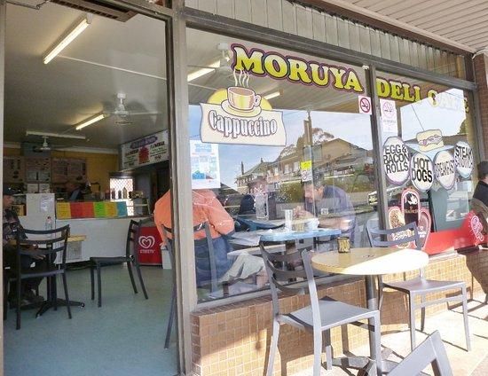 Moruya, Australia: Street frontage