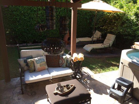 San Giuliano Hotel: Private patio