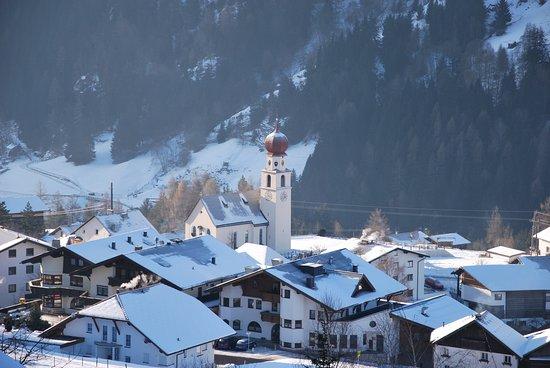 Jerzens, Austria: Vu de la chambre en hiver