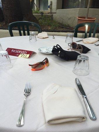 Fiesta Hotel Garden Beach: Extra gedeckter Tisch zu meinen Geburtstag😂😂😂