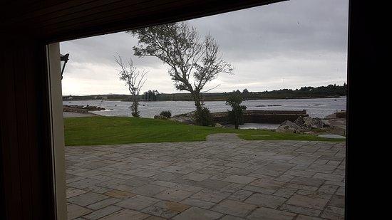 Rosmuck, Ireland: Ausblick aus der Sauna