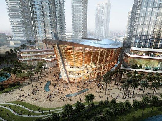 Dubaj, Zjednoczone Emiraty Arabskie: The spectacular new Dubai Opera