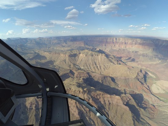Grand Canyon Helicopters - Grand Canyon National Park: 하늘에서 본 그랜드 캐니언