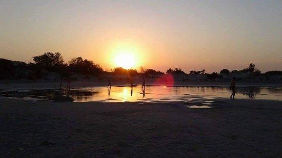Mandy Studios & Appartments: Spiaggia Elanfossi