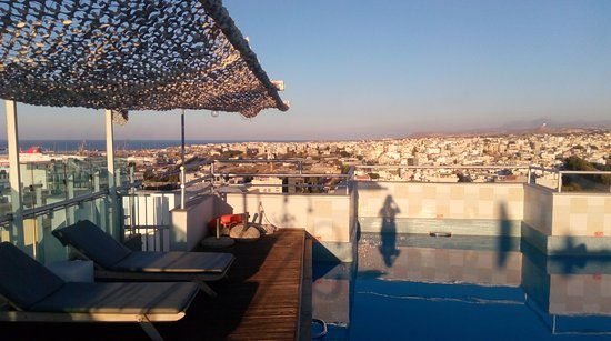 Capsis Astoria Heraklion Hotel: View from the roof terrace