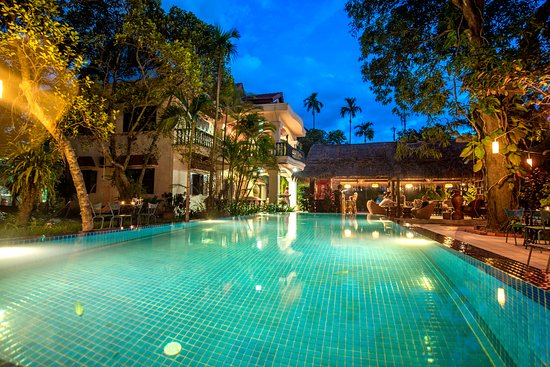 Bloom Garden Guesthouse Villa: Bloom Garden Siem Reap Salt water Pool