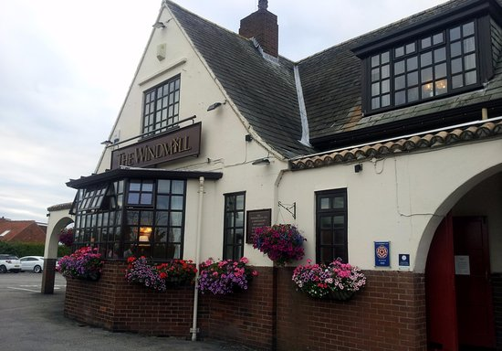 The Windmill: View of Pub Front