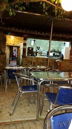Casas Del Monte, İspanya: terraza