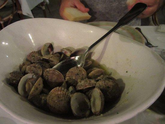Mali Ston, Croazia: Školjke(brbavice i kunjke) na buzaru
