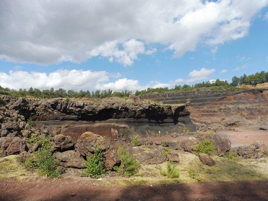 Volcan De Lemptgy Les Niveaux Diffrents
