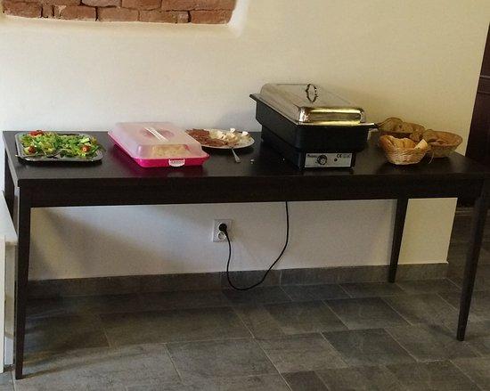 Valtice, Τσεχική Δημοκρατία: Snídaně v luxusním hotelu?