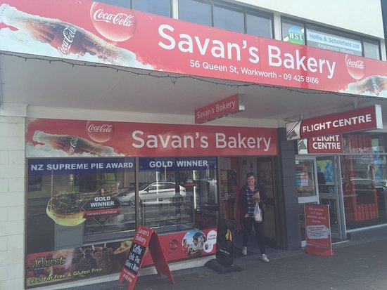 Warkworth, Νέα Ζηλανδία: Savan's bakery