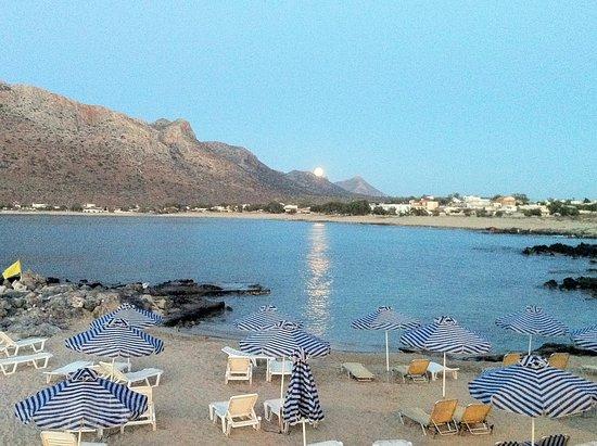 Zorbas Beach Village Hotel: Beach