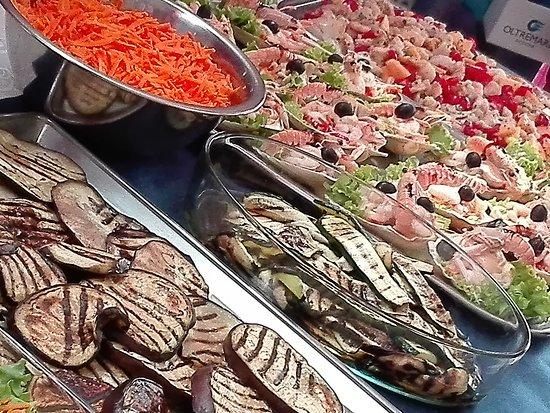 Villa Lavinia Hotel: buffet