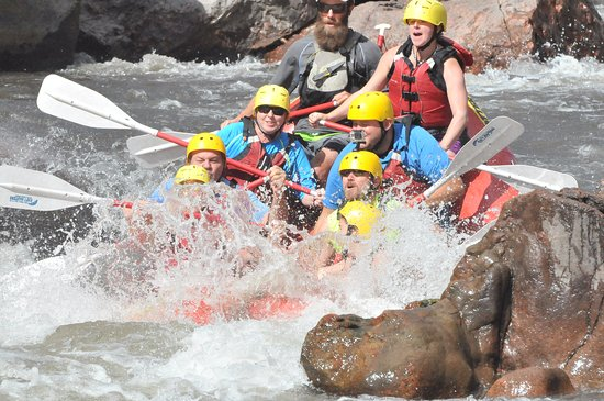 Raft Masters : First set of rapids