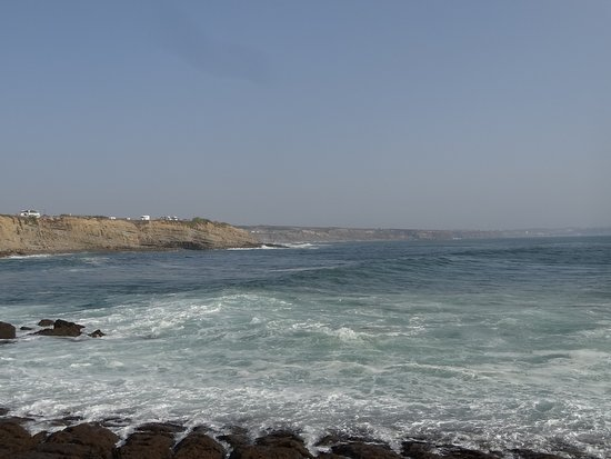 Atouguia da Baleia, Portugal: vue au sud...