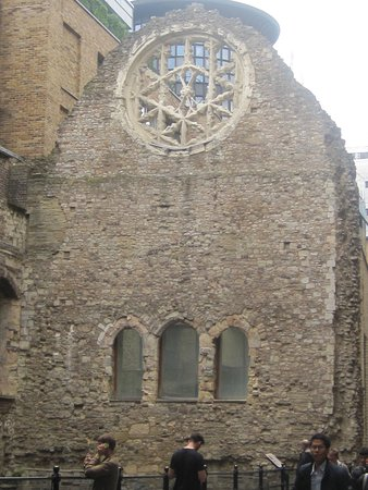 Clink Prison Museum: The Rose Window close by