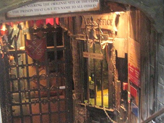 Clink Prison Museum: The entrance