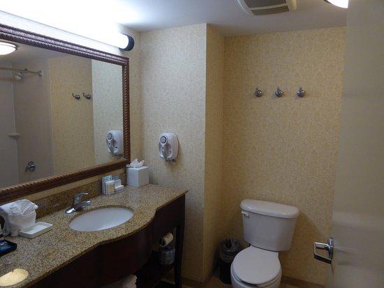 Hampton Inn & Suites Wells-Ogunquit: Clean and bright bath room