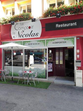 Le comptoir de nicolas lorient recenze restaurace - Comptoir irlandais lorient ...