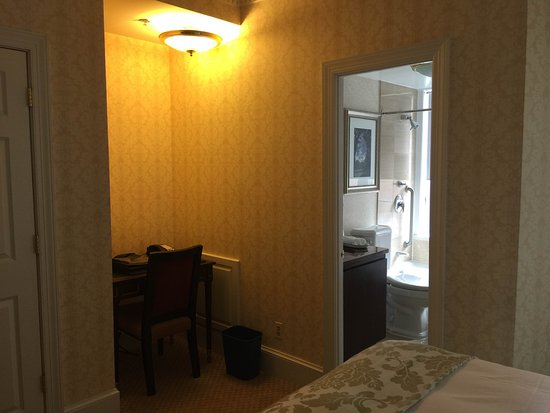 The Fairfax at Embassy Row, Washington D.C.: Room view from the bed corner