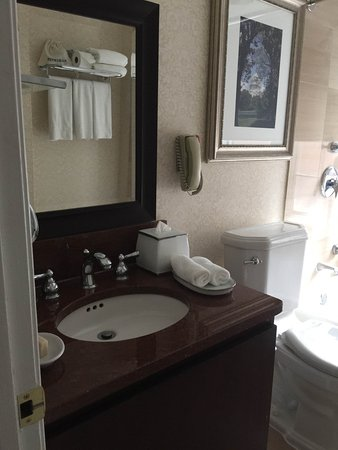 The Fairfax at Embassy Row, Washington D.C.: The sink cabinet does not open.