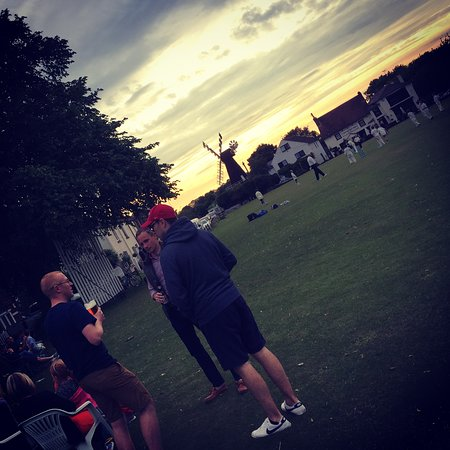 Meopham, UK: Cricket club scenes!