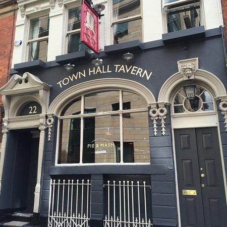 Photo of English Restaurant The Town Hall Tavern at 20 Tib Lane, Manchester M2 4JA, United Kingdom
