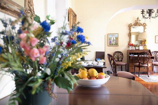 Oxford House: Fresh Fruit & Flowers