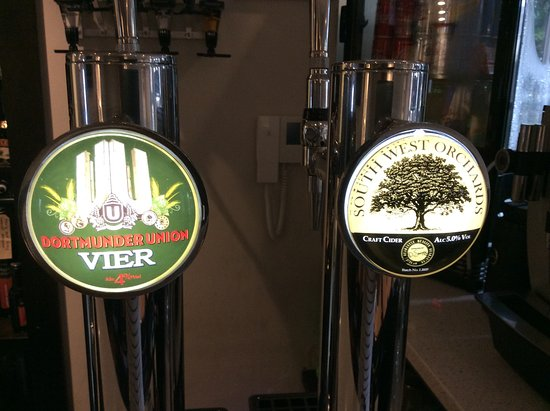 Ivy Mount Guest House: Our draught beers