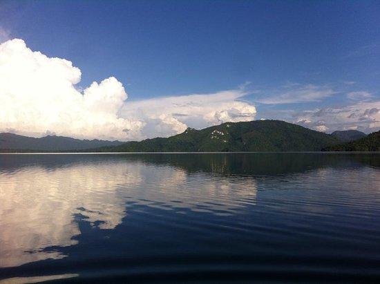 Laguna Miramar: Todo para nosotros :)